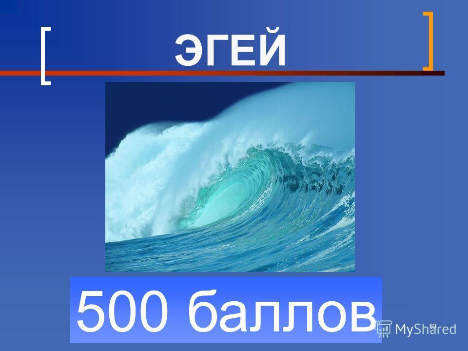 83 500 баллов ЭГЕЙ