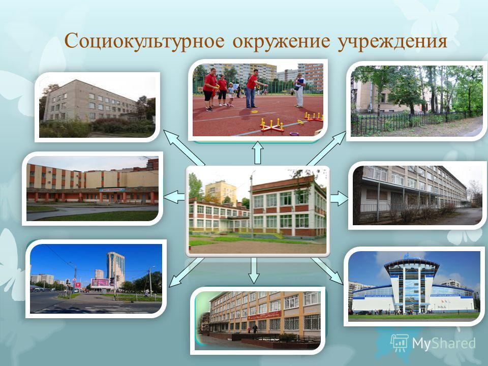 Социокультурное окружение учреждения