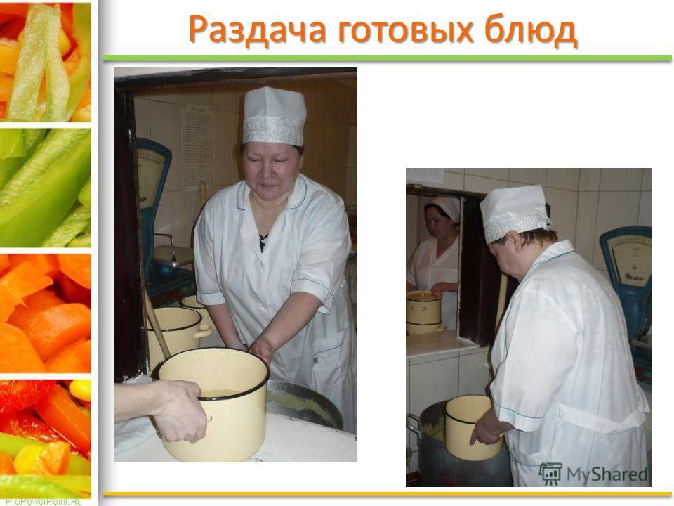ProPowerPoint.Ru Раздача готовых блюд