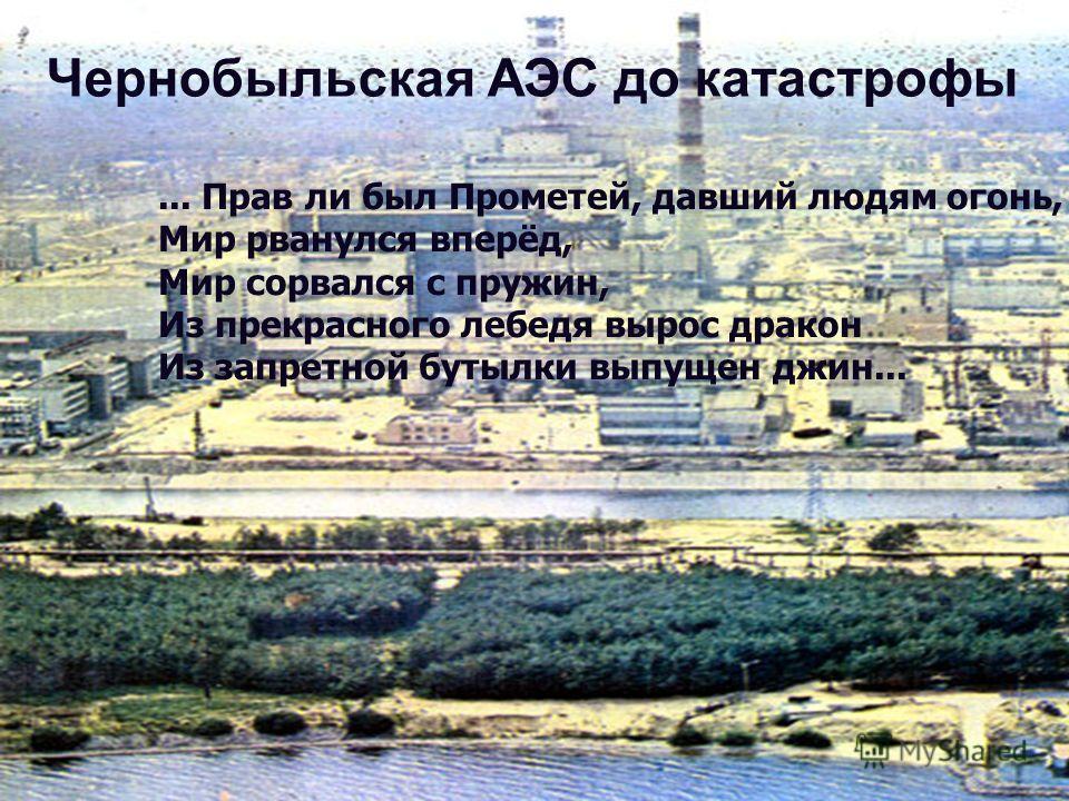 Атомная энергия используется в качестве источника электрической энергии. Первый атомный реактор был построен в декабре 1942 года в городе Чикаго (США) под руководством итальянского физика Энрико Ферми. Этот реактор создавался в условиях строжайшей се