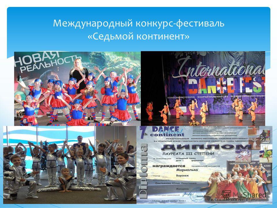 Международный конкурс-фестиваль «Седьмой континент»