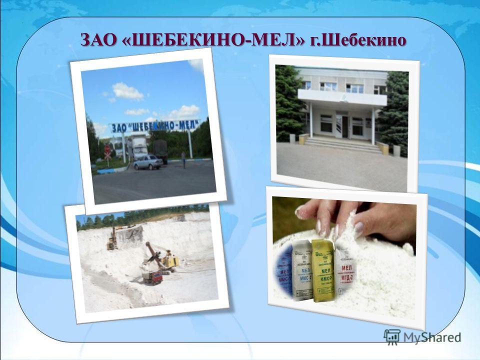 ЗАО «ШЕБЕКИНО-МЕЛ» г.Шебекино