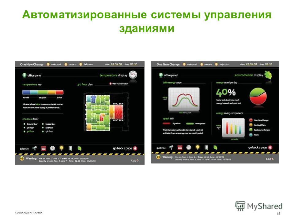 Schneider Electric 13 Автоматизированные системы управления зданиями