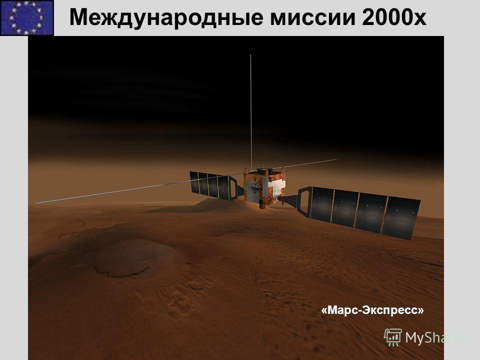 Марс-Экспресс Международные миссии 2000x «Марс-Экспресс»