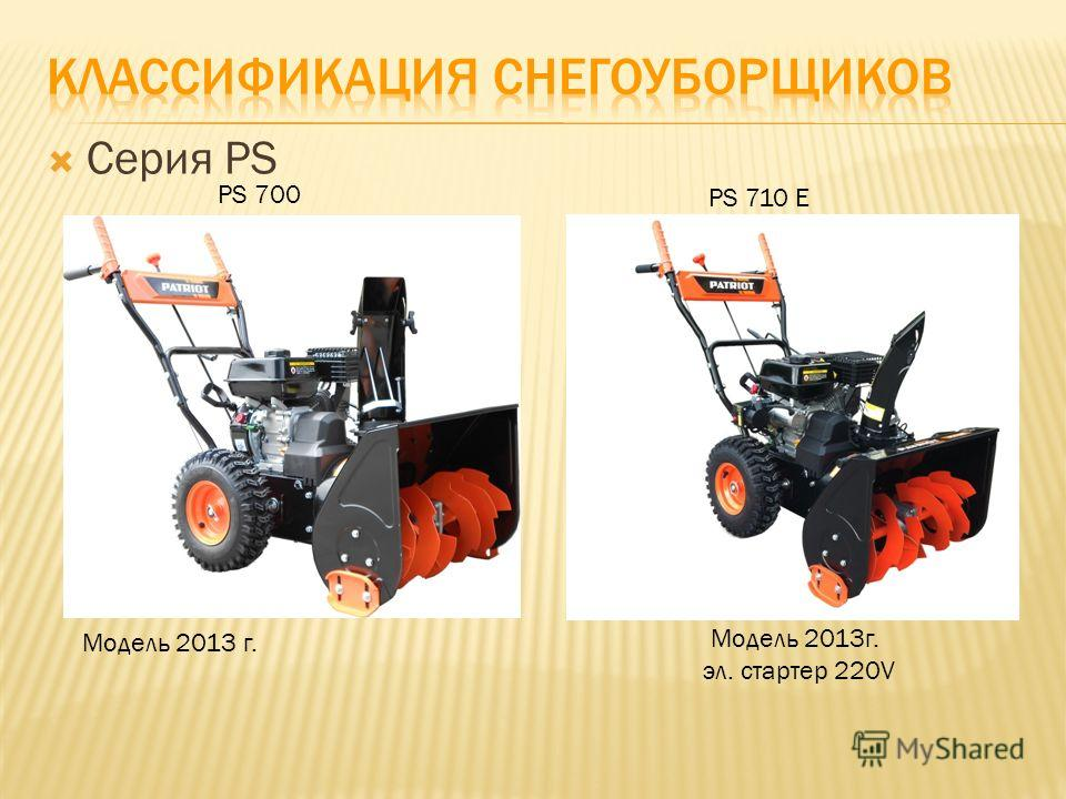 Серия PS PS 700 Модель 2013 г. PS 710 E Модель 2013 г. эл. cтартер 220V