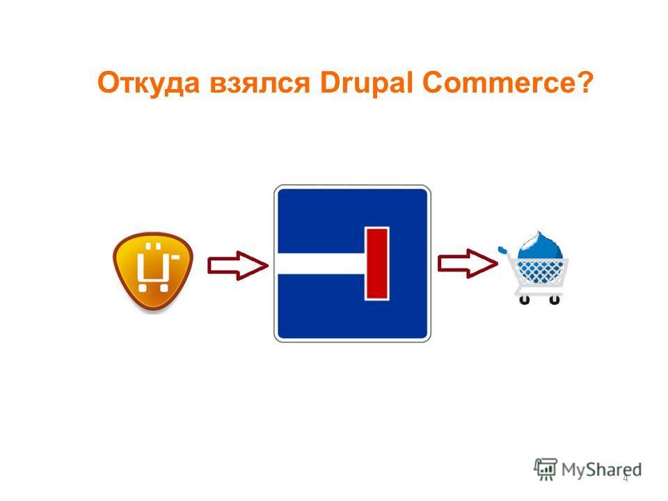 4 Откуда взялся Drupal Commerce?