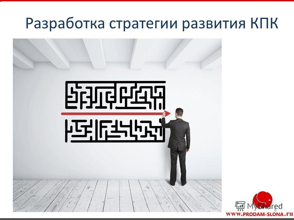 8 Разработка стратегии развития КПК