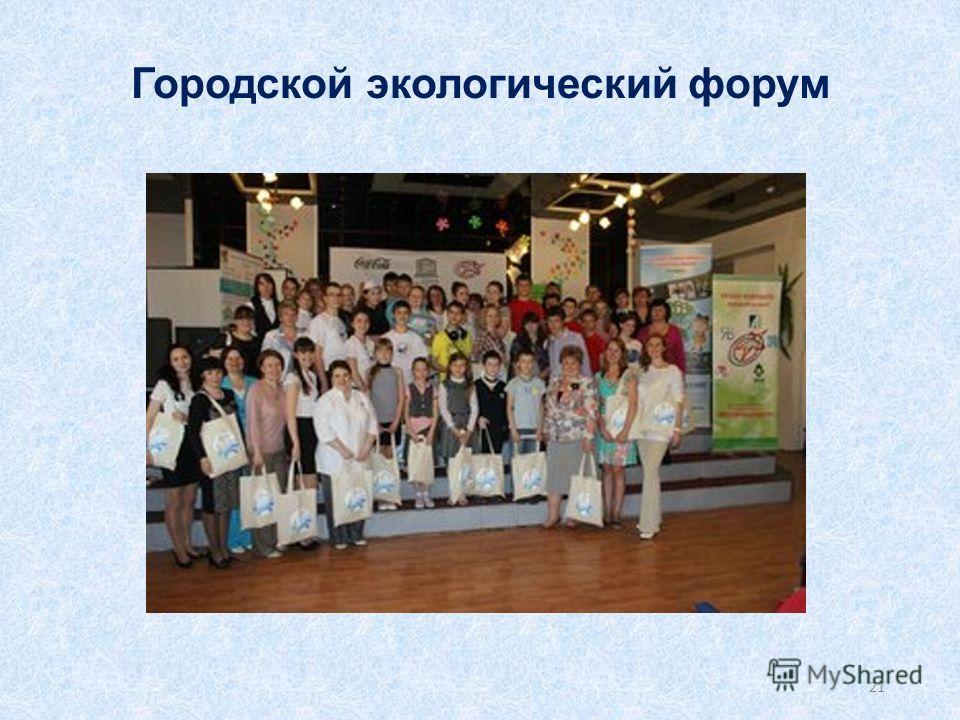 Городской экологический форум 21