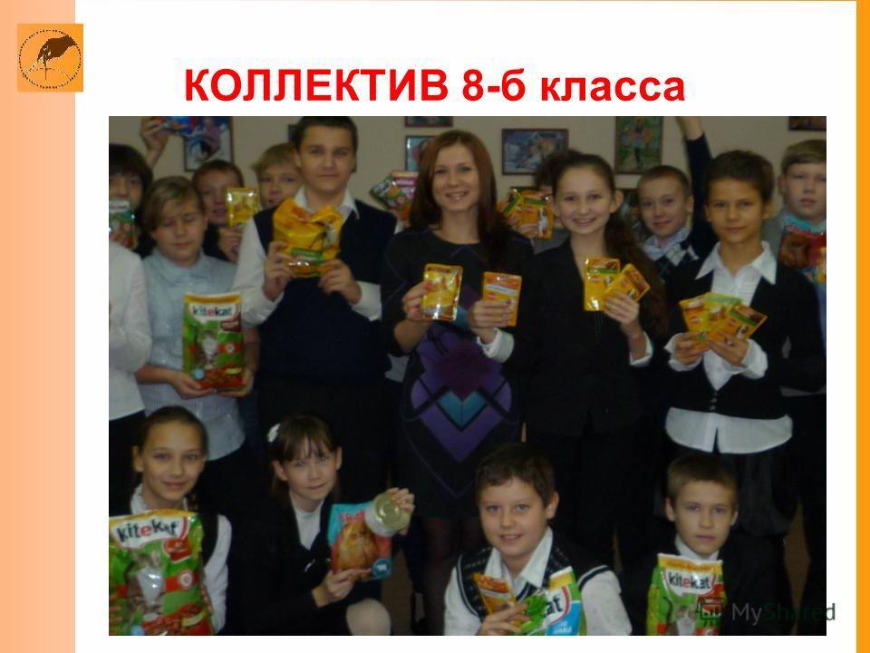 КОЛЛЕКТИВ 8-б класса