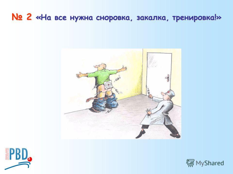 2 «На все нужна сноровка, закалка, тренировка!» 2 «На все нужна сноровка, закалка, тренировка!»