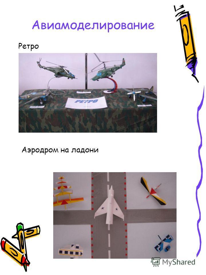 Авиамоделирование Ретро Аэродром на ладони