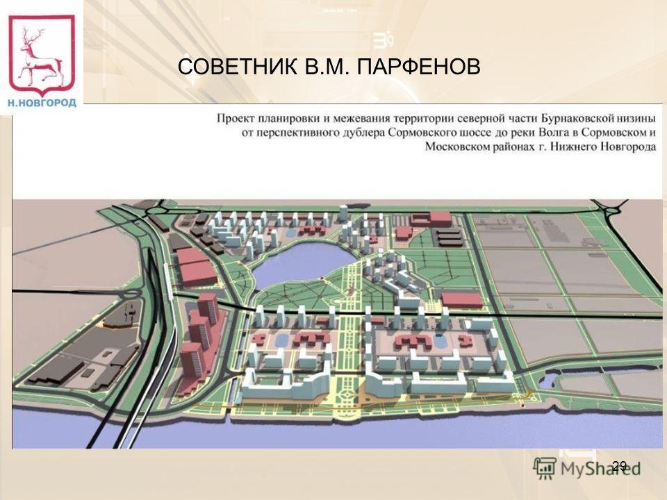 29 СОВЕТНИК В.М. ПАРФЕНОВ