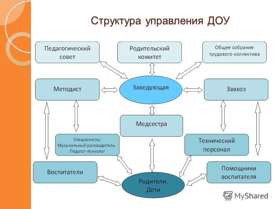 Структура управления ДОУ Структура управления ДОУ