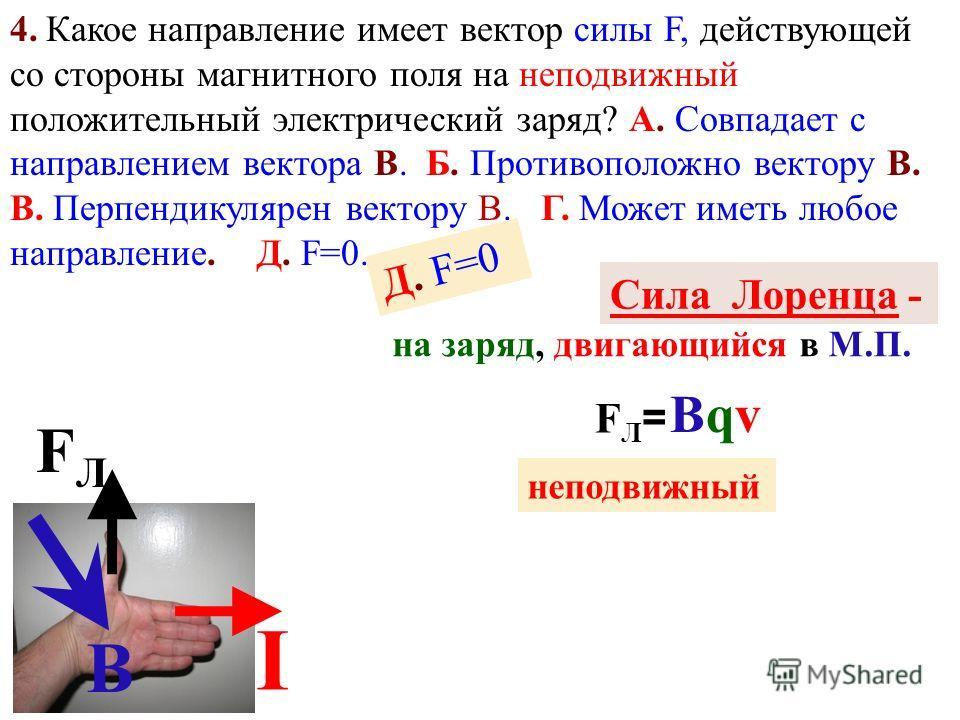 1. Центральное электростатическое 2. однородное 3. Какой из вариантов (рис. 3) соответствует схеме расположения линий индукции катушки с током? А. 1. Б. 2. В. 3. Г. 4. Д. 5. В. 3