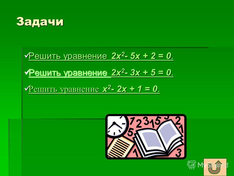Разложение квадратного трёхчлена на множители Теорема. Если x 1 и x 2 -корни квадратного уравнения ax 2 +bx+c=0, то при всех х справедливо равенство Теорема. Если x 1 и x 2 -корни квадратного уравнения ax 2 +bx+c=0, то при всех х справедливо равенств