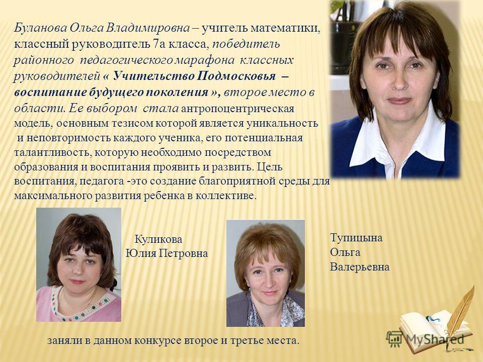 Тупицына Ольга Валерьевна
