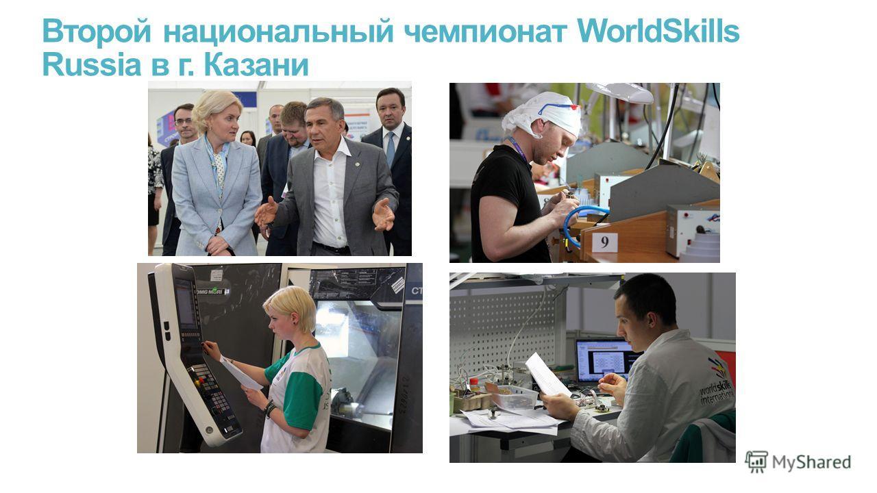 Второй национальный чемпионат WorldSkills Russia в г. Казани