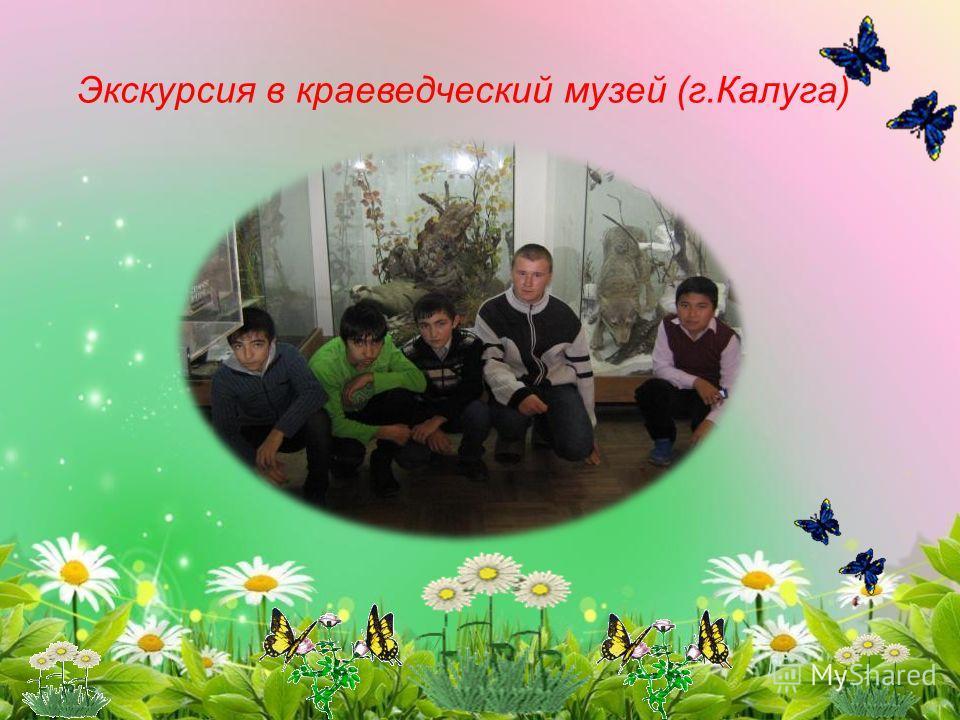 Экскурсия в краеведческий музей (г.Калуга)