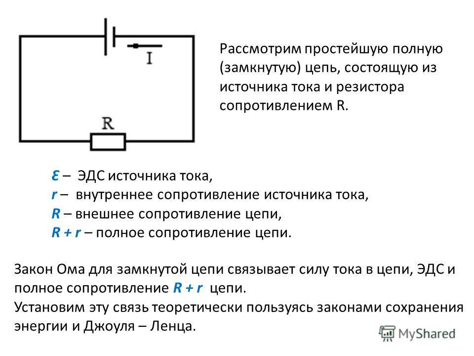 Электродвижущая сила реферат по физике 1058