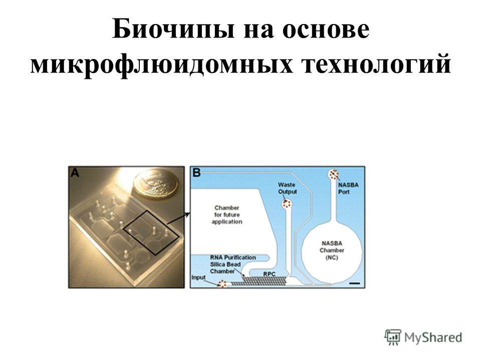 Биочипы на основе микрофлюидумных технологий