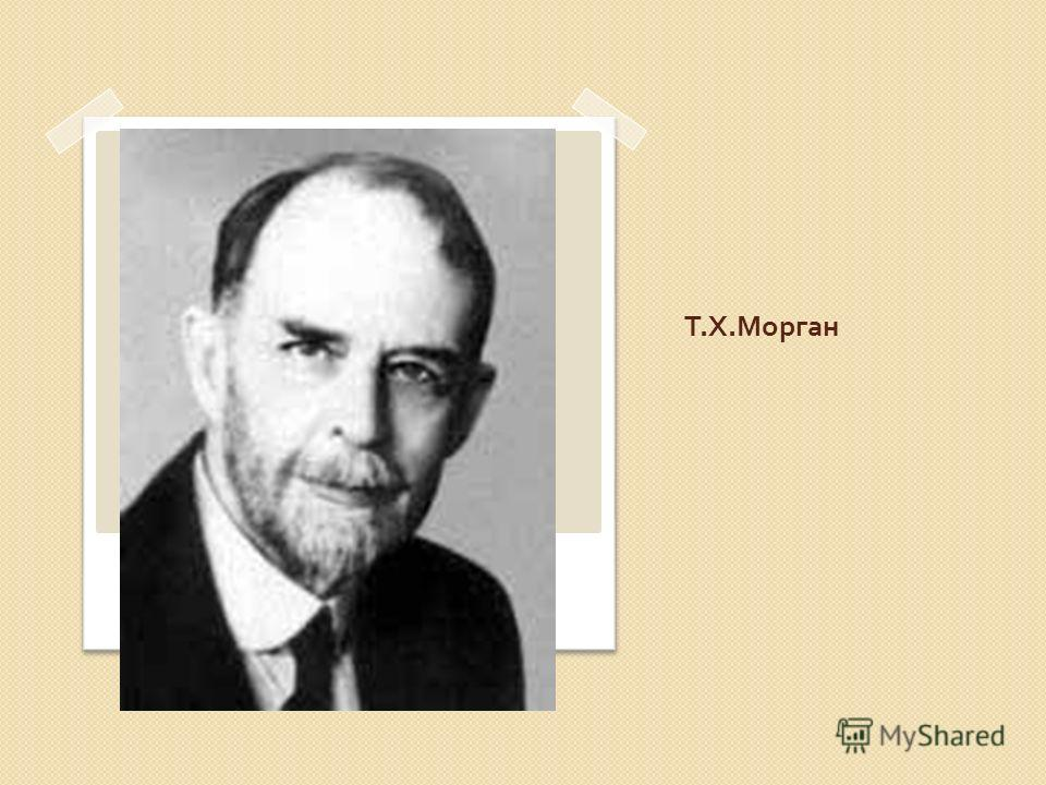 Т. Х. Морган
