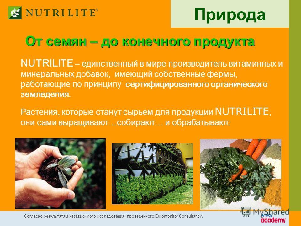 Органическое земледелие на фермах NUTRILITE 1