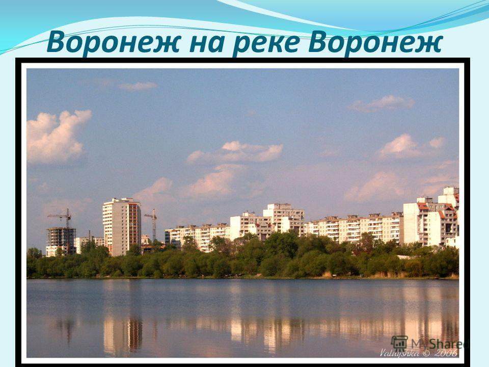 Воронеж на реке Воронеж