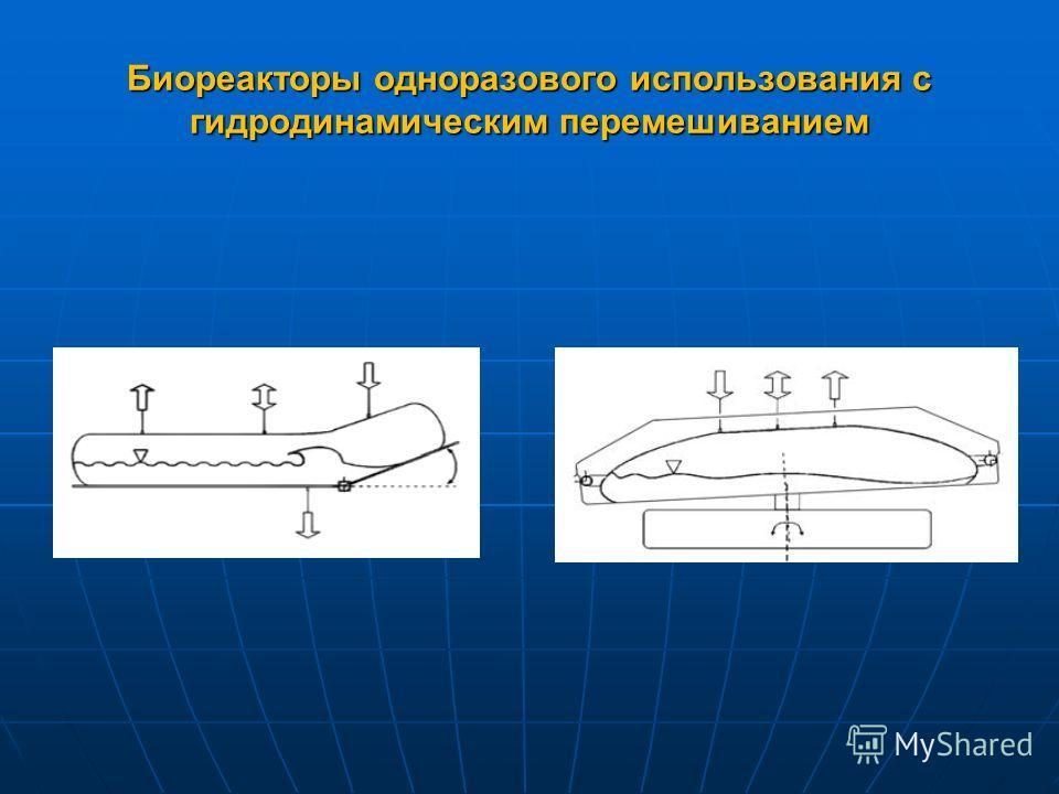 Биореакторы одноразового использования с гидродинамическим перемешиванием