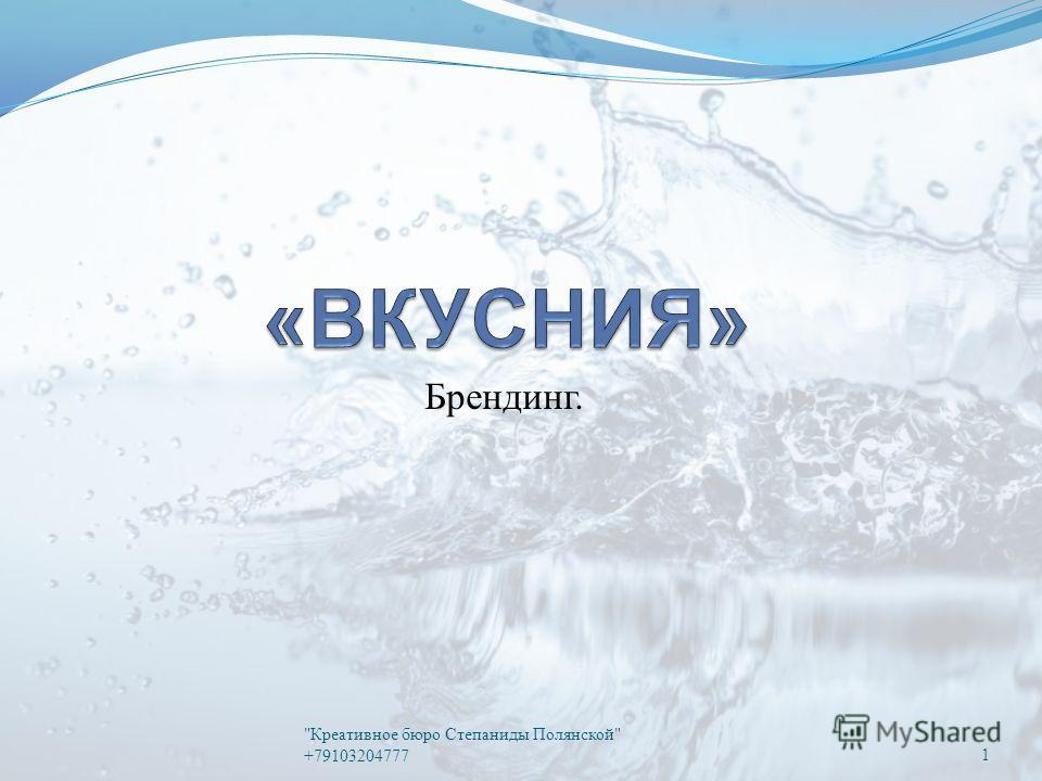 Брендинг. Креативное бюро Степаниды Полянской +791032047771
