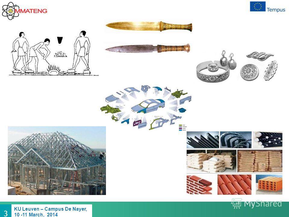 3 KU Leuven – Campus De Nayer, 10 -11 March, 2014