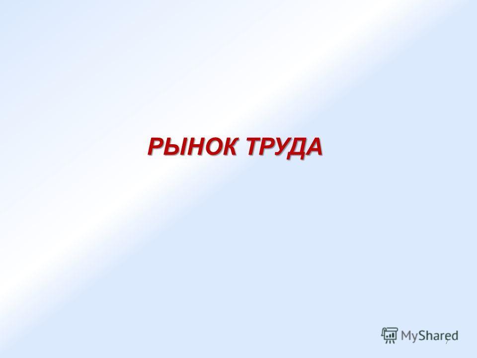 РЫНОК ТРУДА 7