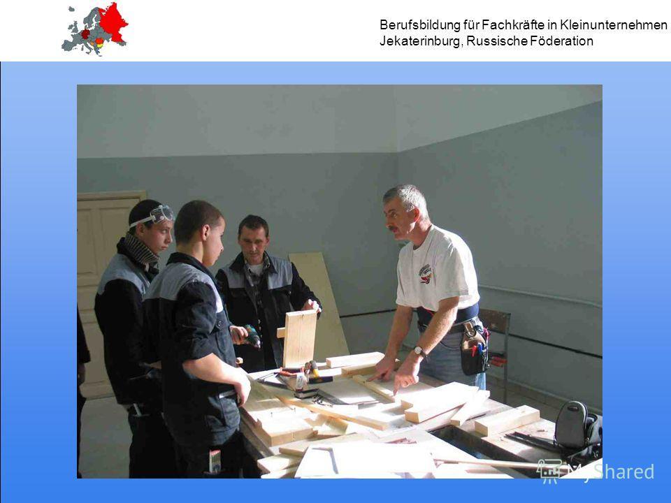 Berufsbildung für Fachkräfte in Kleinunternehmen Jekaterinburg, Russische Föderation