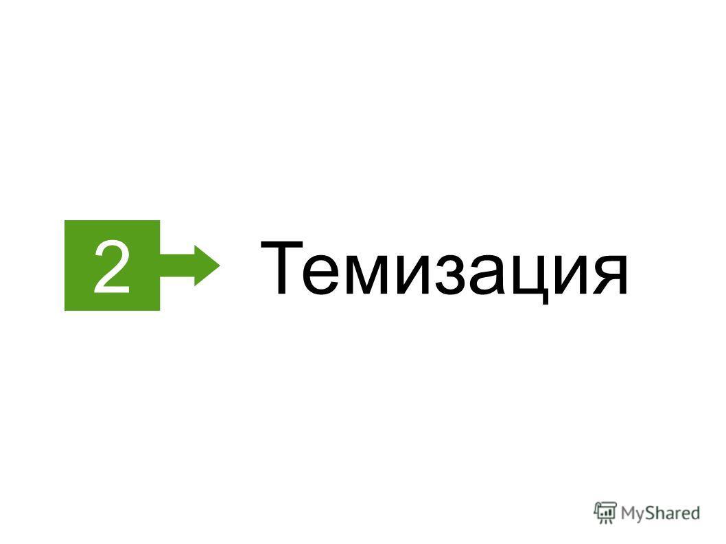 2 Темизация