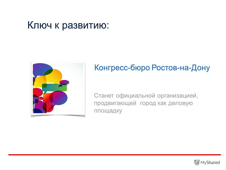 Ключ к развитию: Конгресс-бюро Ростов-на-Дону Станет официальной организацией, продвигающей город как деловую площадку
