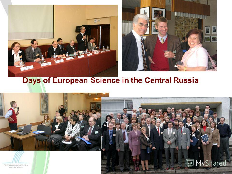 Days of European Science in the Central Russia
