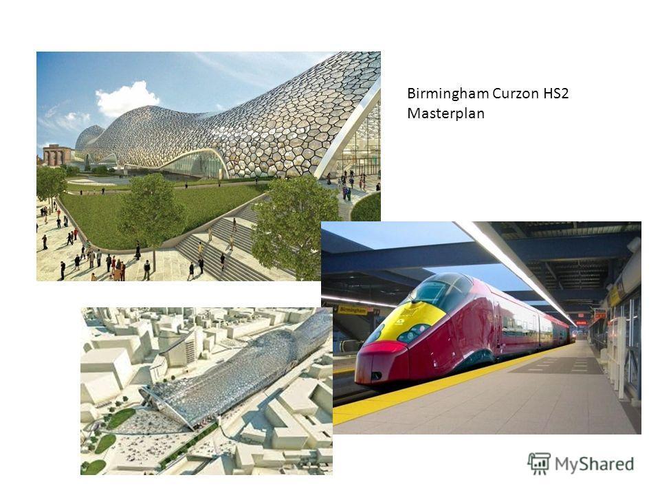 Birmingham Curzon HS2 Masterplan