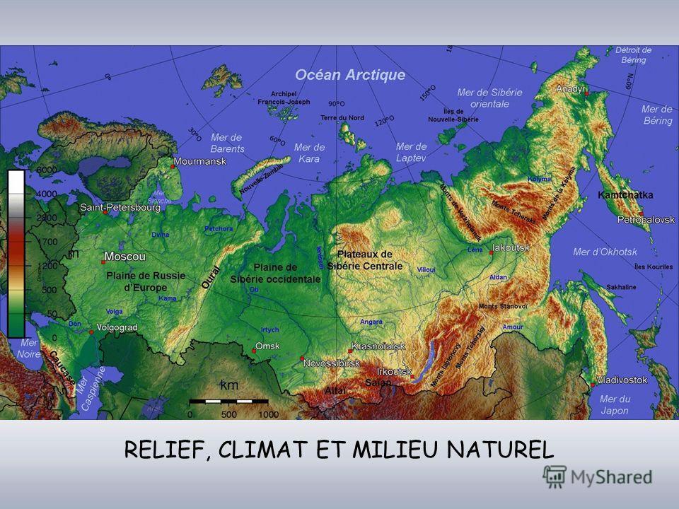 RELIEF, CLIMAT ET MILIEU NATUREL