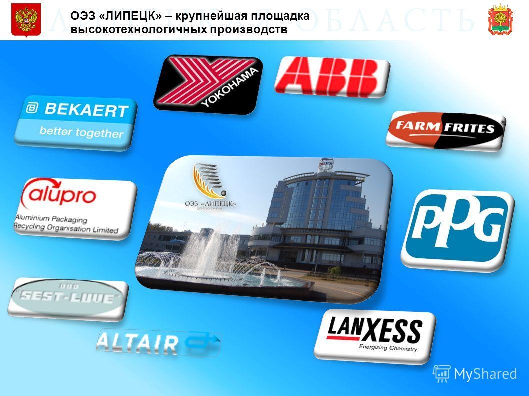 ОЭЗ «ЛИПЕЦК» – крупнейшая площадка высокотехнологичных производств