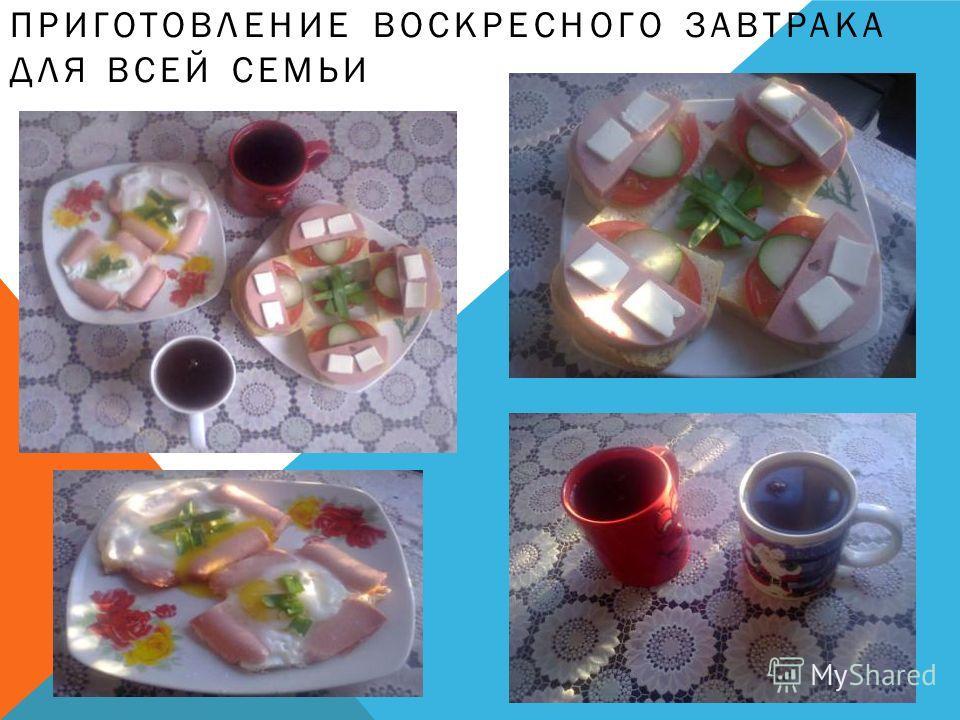 Воскрестный завтрак для всей семьи презинтация 5
