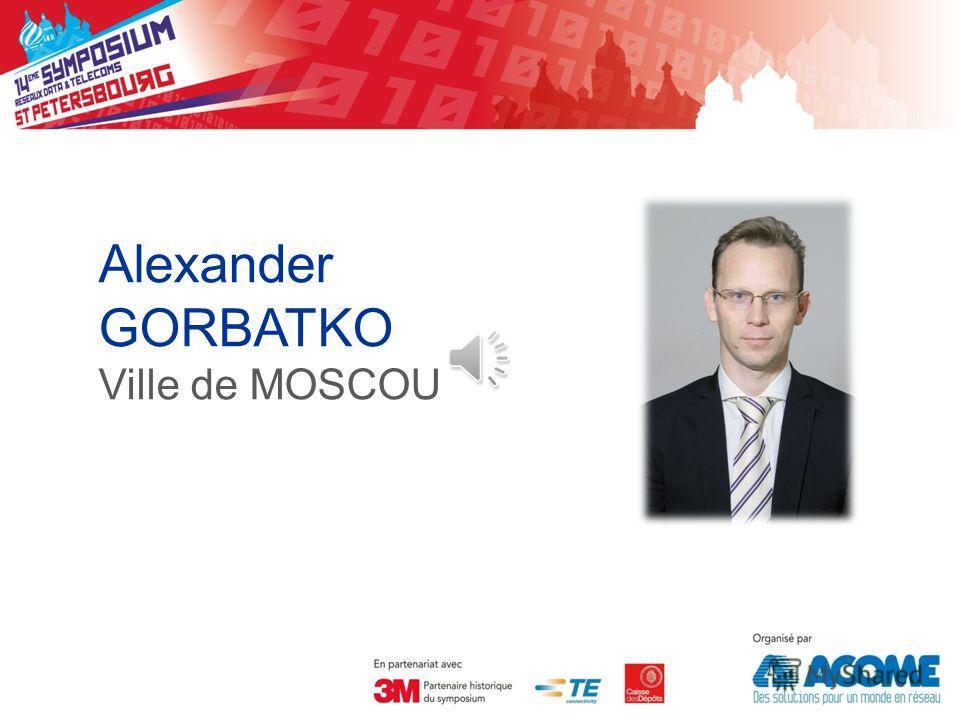 Alexander GORBATKO Ville de MOSCOU