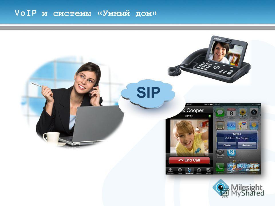 VoIP и системы «Умный дом» SIP