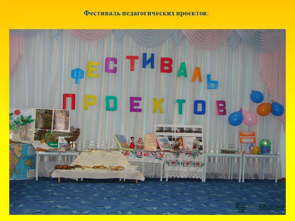 Фестиваль педагогических проектов:
