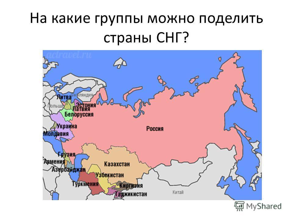 Презентация по географии 11 класс постсоветский регион