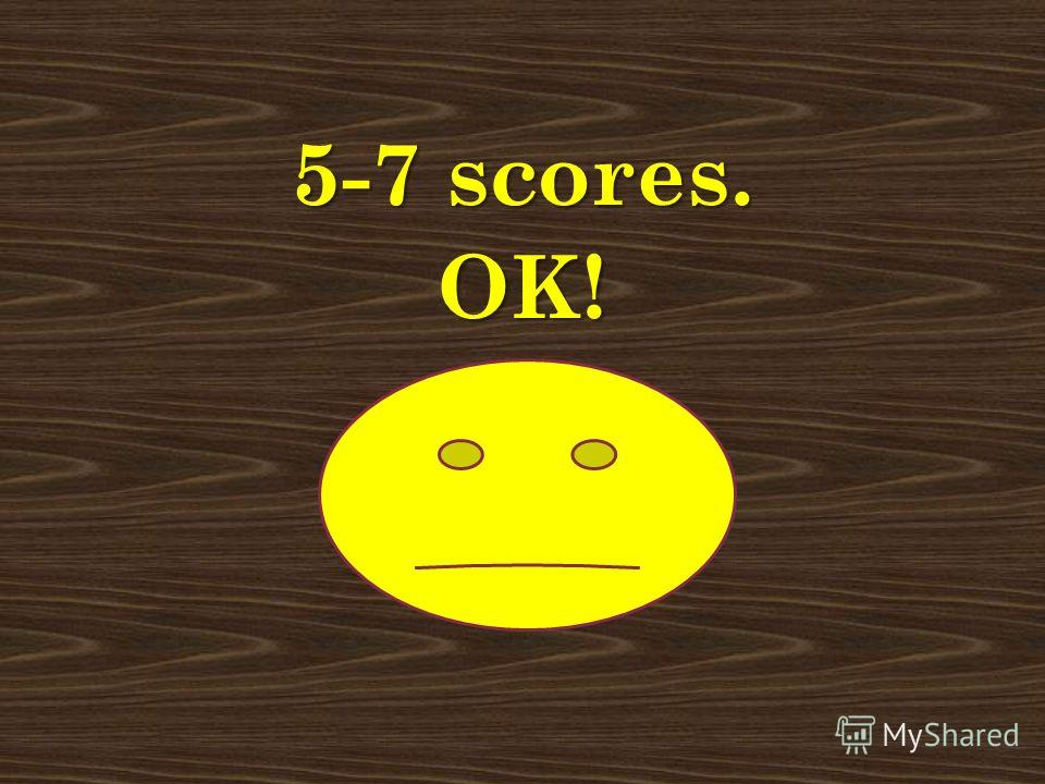 Less than 5 scores. Try again! Less than 5 scores. Try again!