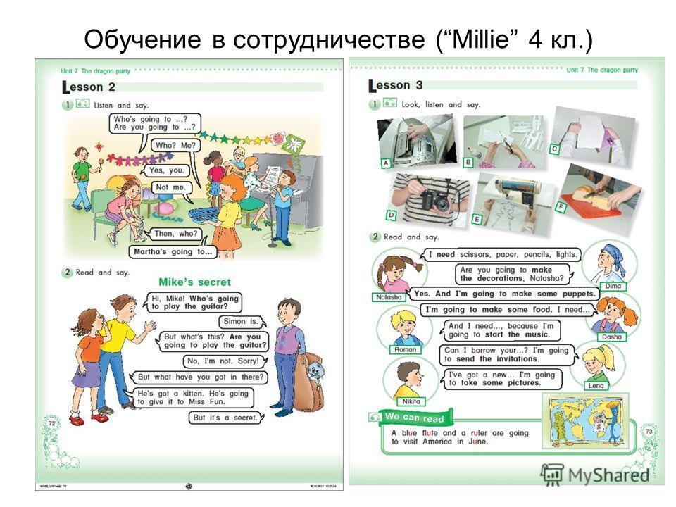 Обучение в сотрудничестве (Millie 4 кл.)