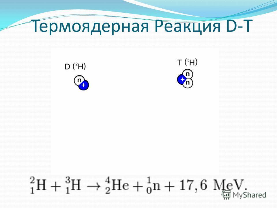 Термоядерная Реакция D-T