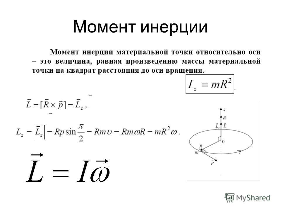 Момент инерции