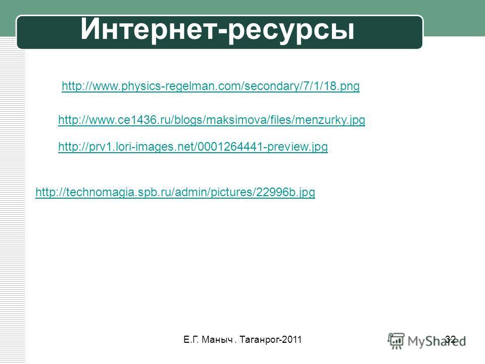 http://www.physics-regelman.com/secondary/7/1/18.png http://prv1.lori-images.net/0001264441-preview.jpg http://technomagia.spb.ru/admin/pictures/22996b.jpg http://www.ce1436.ru/blogs/maksimova/files/menzurky.jpg 32Е.Г. Маныч. Таганрог-2011 Интернет-р