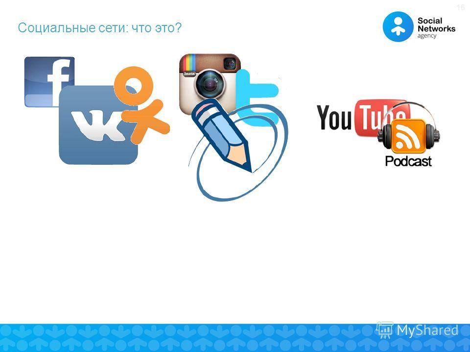 16 Социальные сети: что это?