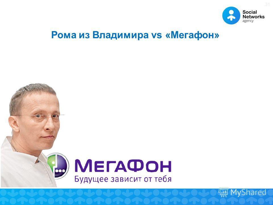 31 Рома из Владимира vs «Мегафон»